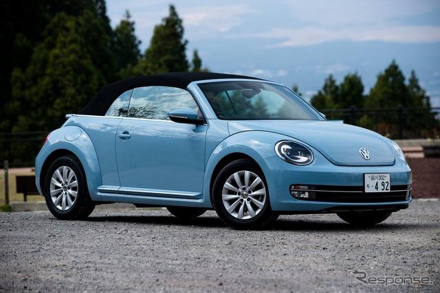 El cabriolet del escarabajo VW