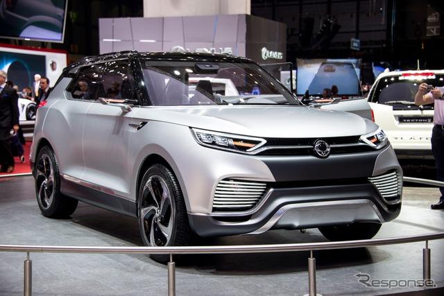 Ssangyong XLV (Geneva Motor Show 14)