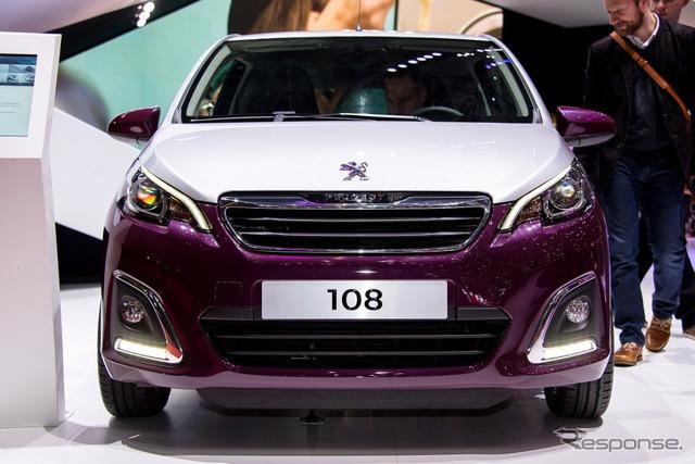 Peugeot-108 (14 Geneva Motor Show)