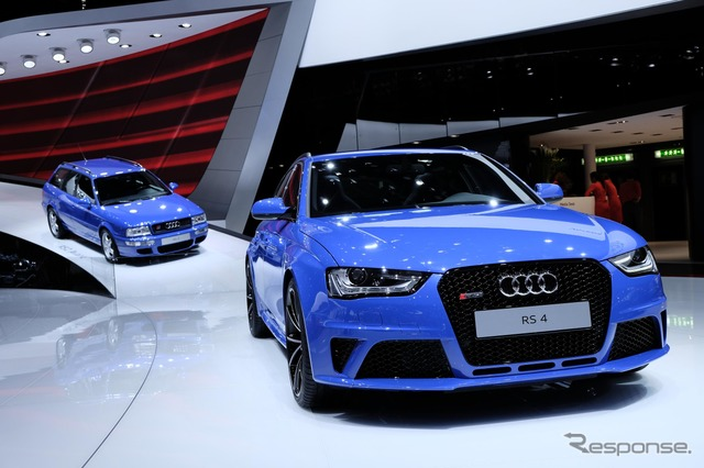 Audi RS2 และ RS4 รองノガーロ & เลือก (เจนีวามอเตอร์แสดง 14)