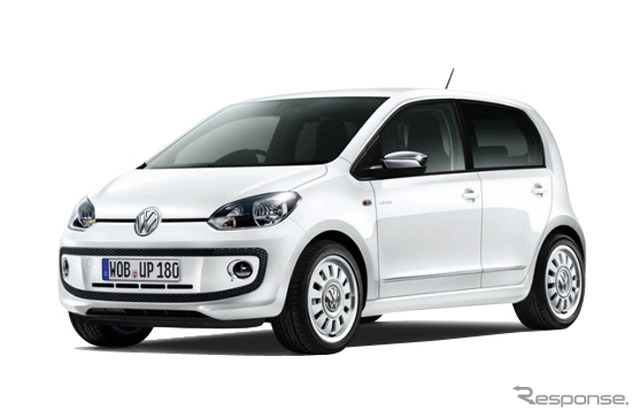 Import car sector Volkswagen up! … 17.9 km / l (reference image)