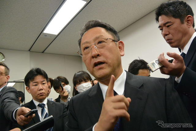 Chairman of Japan Automobile Manufacturers Association, Toyoda Akio