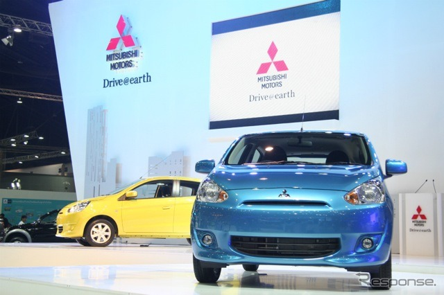 Mitsubishi Mirage (the Bangkok motor show 12)