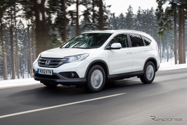 Honda CR-v European specifications