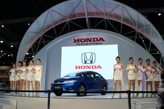 Honda Press Conference (2014 Bangkok Motor Show)