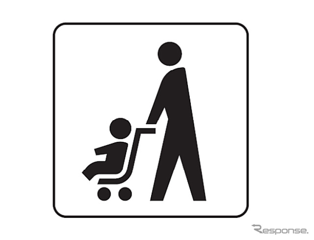 Baby strollers and guide to symbols