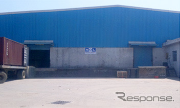 Extend the warehouse in the Gurgaon district, Mitsui o.s.k. lines, India subsidiary