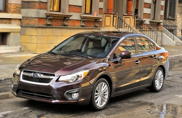 New Subaru Impreza (North American version)