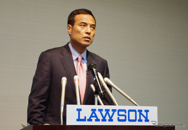 Lawson niinami, Takeshi CEO (reference image)