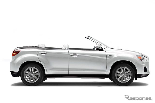 The RVR convertible, released on April 1st by Mitsubishi UK