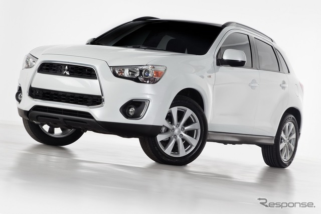 2013 Mitsubishi Outlander Sport (RVR in Japan)