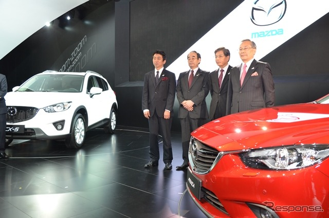 Mazda press conference at 2013 Shanghai Motor Show