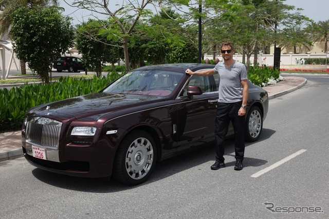 Jenson and Rolls Royce
