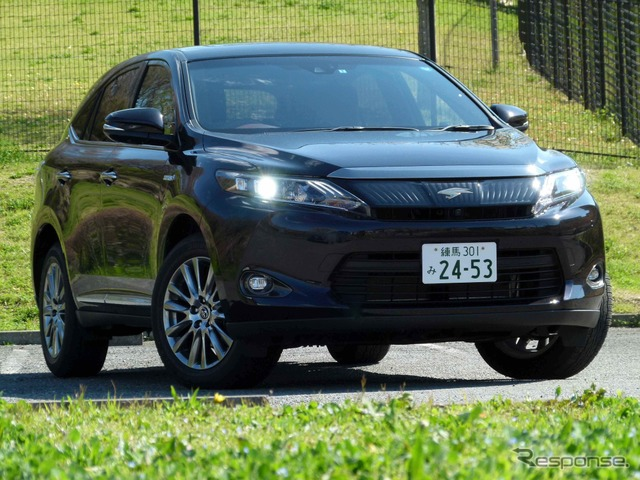 Toyota Harrier Hybrid Advanced Package