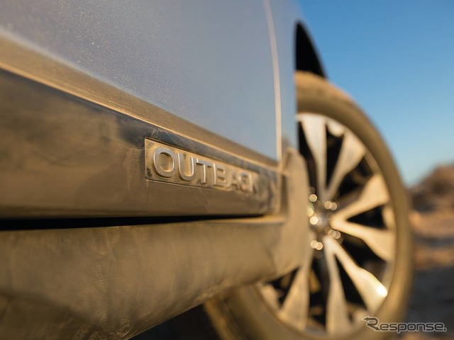 Latest preliminary image of the all-new Subaru Legacy Outback