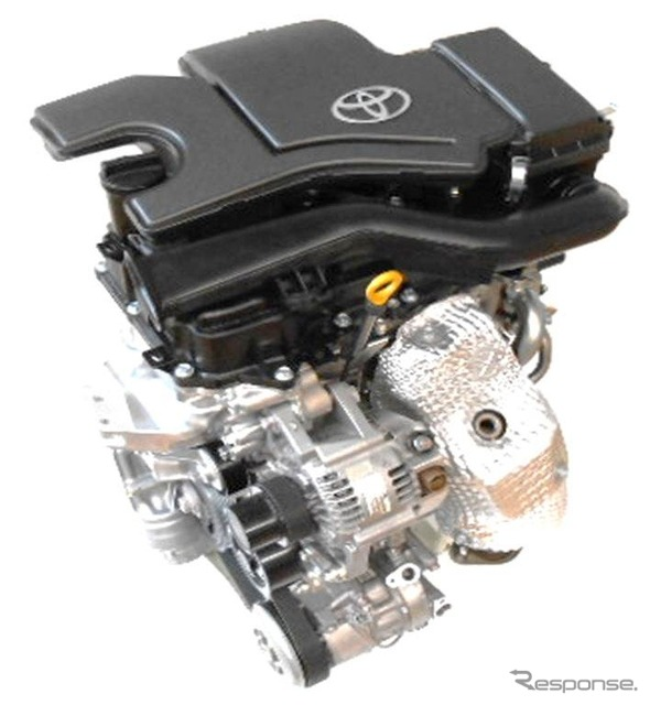 Toyota's new engine series' 1-liter gasoline engine