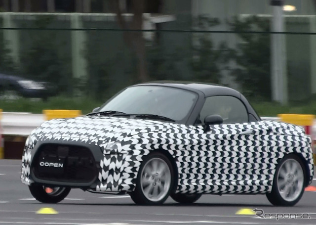 New Copen was camouflaged body prototype