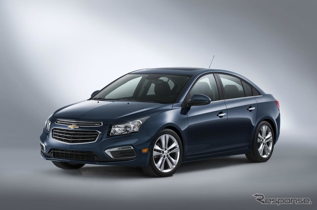 Model of the Chevrolet cruise 2015