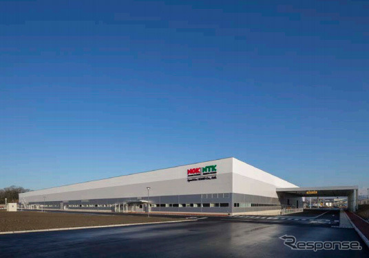 New plant of NGK spark Japan-Gifu Prefecture Kani, working