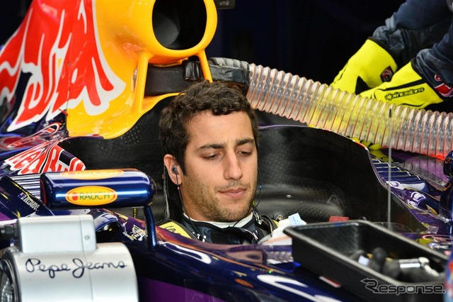 Daniel ricciardo was disqualified at the Australia Grand Prix
