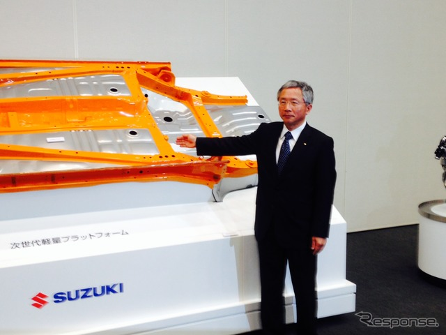 Executive Vice President Honda and Suzuki's next-generation platform
