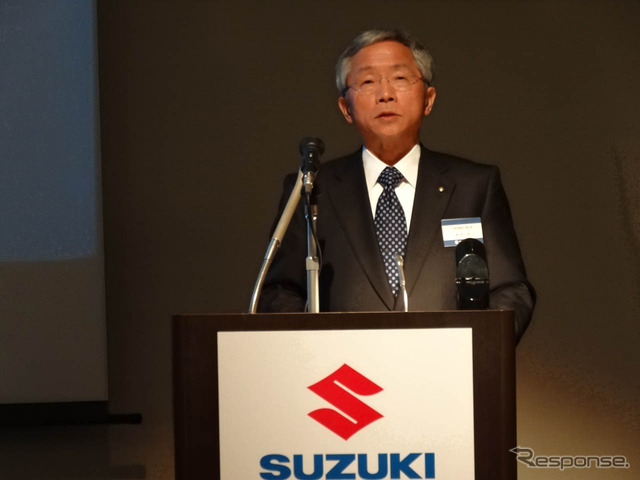 Honda Osamu Vice President described Suzuki's fuel economy improvement plan