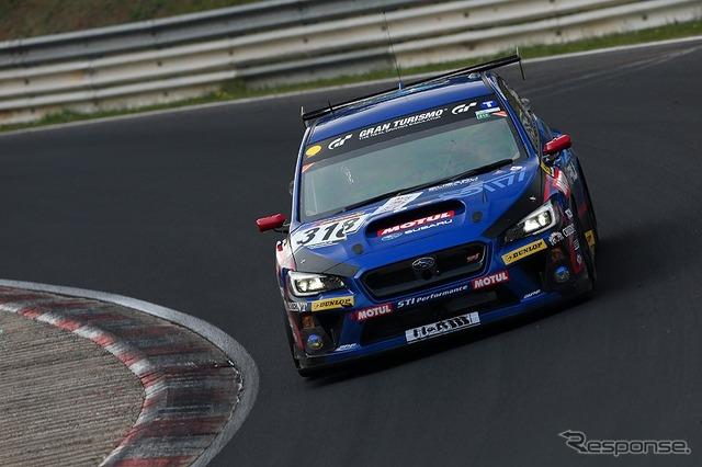 Subaru WRX STI NBR challenge 2014