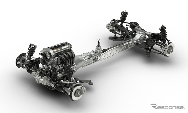 Next Mazda Roadster chassis.