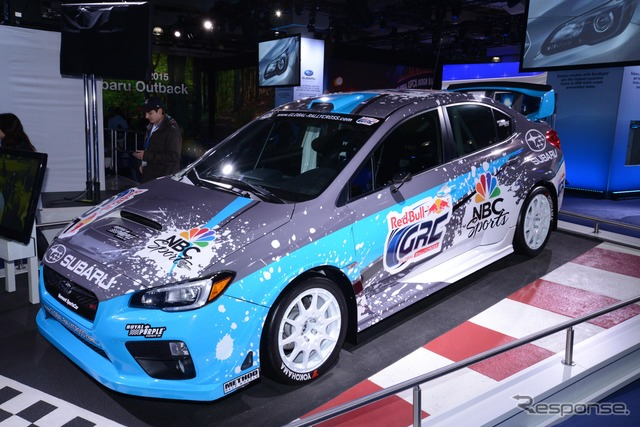 New Subaru WRX STI global rally cross specification (New York Auto Show 14)