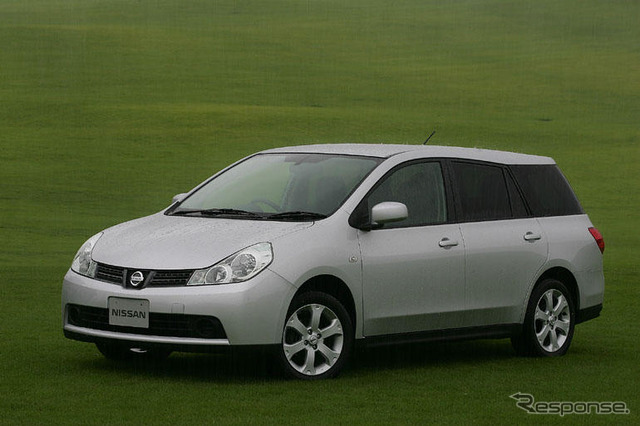 [Nissan wingroad prototype] at no. 5's new wagon design