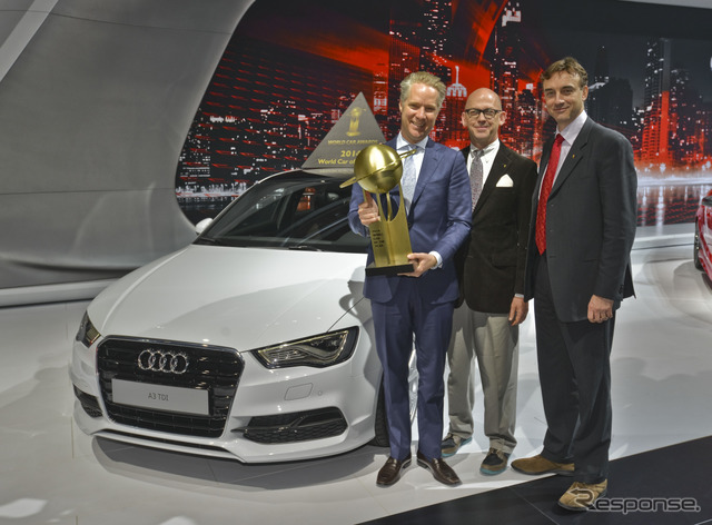 Was awarded the 2014 that garnered new Audi A3 (14 New York Motor Show)