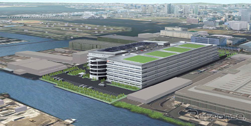 Japan Express, new Tokyo distribution center (completion expected figure)