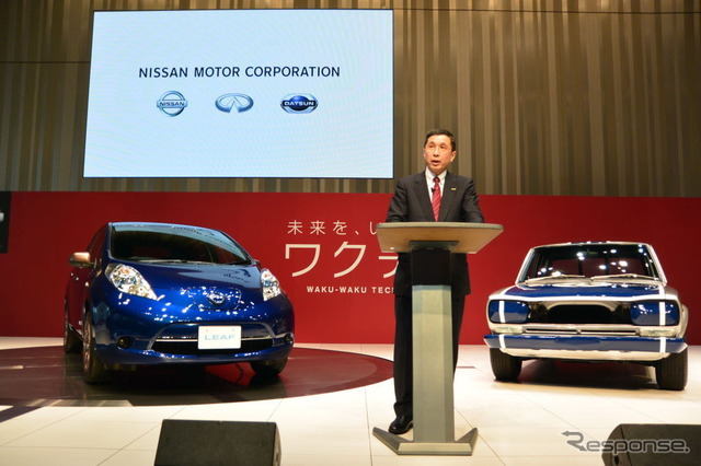 Nissan Motors West Hayakawa who CCO