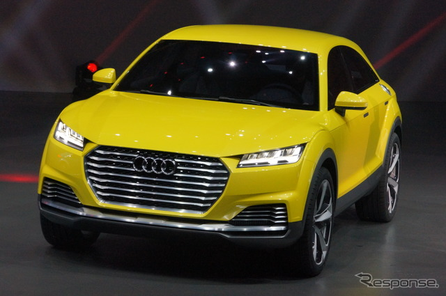 Beijing motor show 14 the audi tt off road concept 408 for Sun motor cars audi