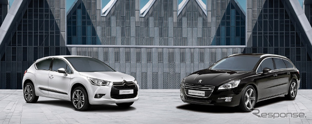 Citroen DS4 and Peugeot 508 SW