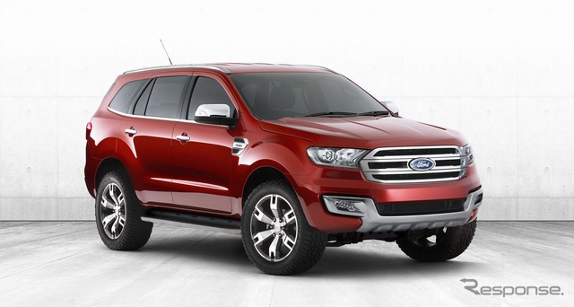 Ford Everest konsep
