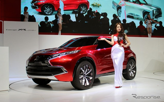 Mitsubishi Press Conference (2014 Beijing Motor Show)