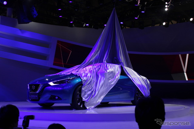 Nissan Rania concept (Beijing Motor Show 14)