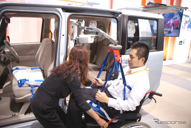 "Mini car transfer device to the car ""N-Lift n lift"