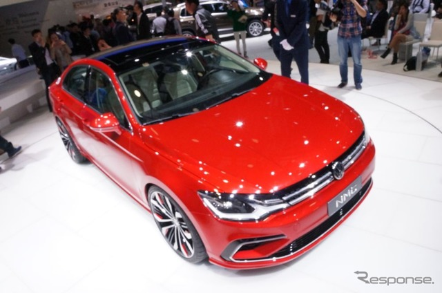 VW new midsize Coupe (Beijing Motor Show 14)