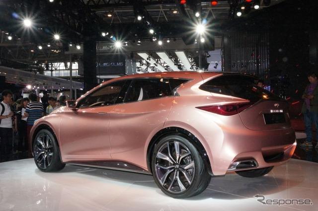 Infiniti Q30 Concept at 2014 Beijing Motor Show