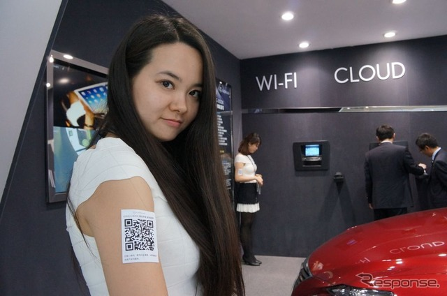 [Beijing Motor Show 14] lead in Lexus, car Wi-Fi offering convenience to appeal