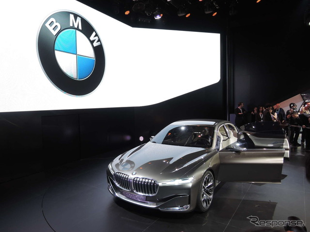 [Beijing Motor Show 14] BMW appealed to weight reduction technology