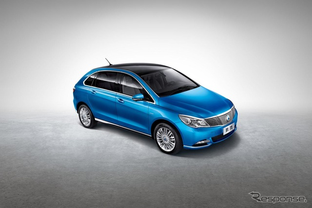Daimler and BYD's new EV, Danza