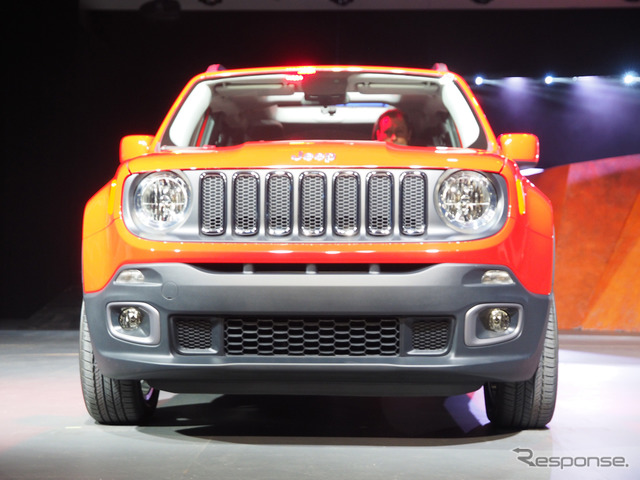 Jeep Renegade (New York Auto Show 14)