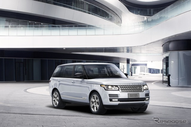 Range Rover hybrid long wheel base