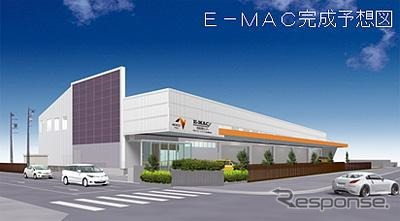 The figure of the E-TAC technical training center