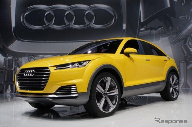 Audi TT off-road concept (Beijing Motor Show 14)