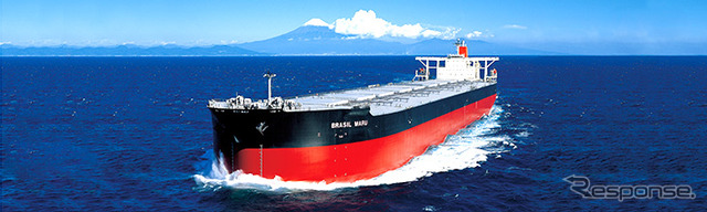 "Mitsui o.s.k. lines, the ore carrier ""BRASIL MARU"