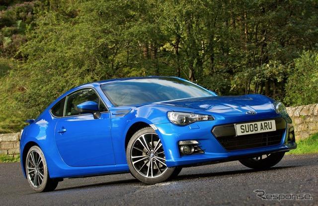 Subaru BRZ (UK specification)